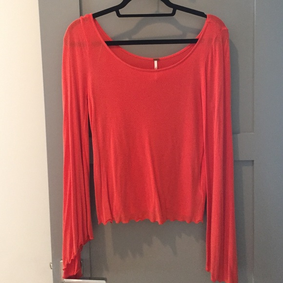 62 off free people tops free people bell bottom sleeves for Bell bottom sleeve shirt