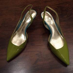 Sigerson Morrison Shoes - New belle (singreson Morrison) lime shoes
