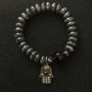 """Jewelry - """"Hamas"""" hand stretch bracelet"""