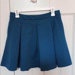 Pim + Larkin Cobalt Blue Skirt