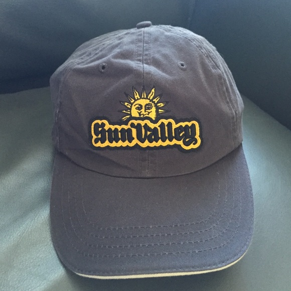 c08034ad489 ... usa sun valley navy hat adjustable ac8a7 c9cc7