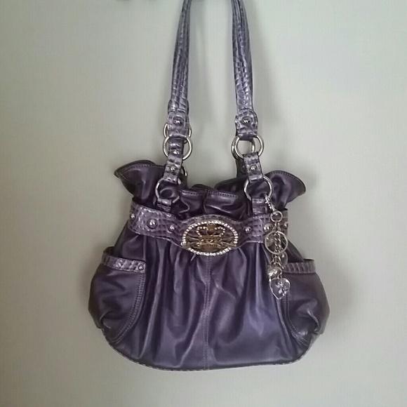 Kathy Van Zeeland Handbags - Purple Kathy Van Zeeland purse a5f6627e3af1d