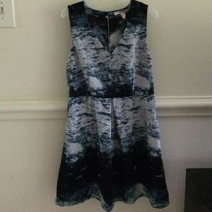 Forever 21 watercolor dress
