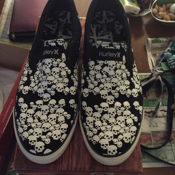 Hurley Shoes   Mens Hurley Slip Ons