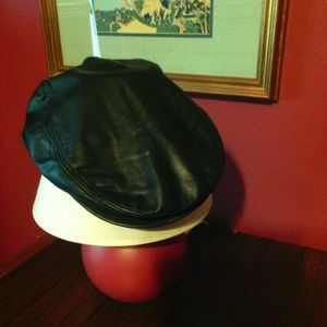 Retro Rockabilly Festival Black Biker Hat Cap