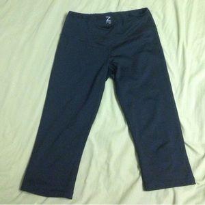 Zella crop leggings size Small