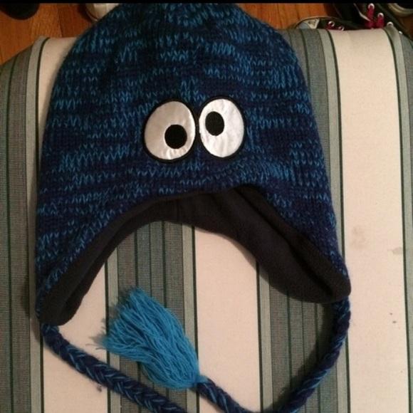 64ebcb09c934a Cookie Monster winter hat. M 55ba917c3ca15d12a9005bfa