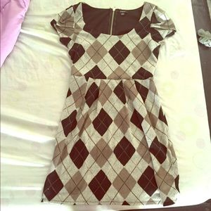 Rhapsody Dresses & Skirts - Gray and Black Plaid Preppy Dress