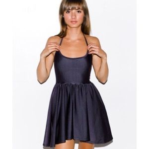 American Apparel Dresses & Skirts - American Apparel Nylon Tricot Figure Skater Dress