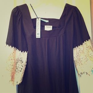 Other - Solitaire Swim Coverup Navy size Small NWT