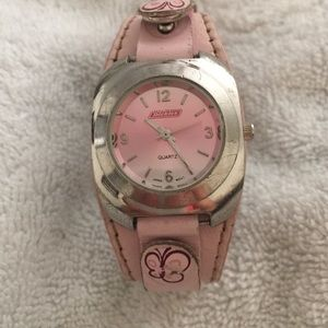 Dickies Jewelry - 💕DICKIES WATCH PINK LEATHER BAND💕