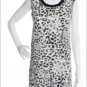 Rogan Dresses & Skirts - Leopard cheetah animal print shift tank dress