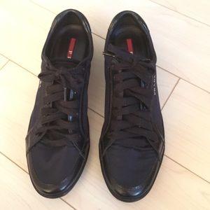 Prada Shoes - Prada Women s Sneakers Navy ce4f1a0c1b