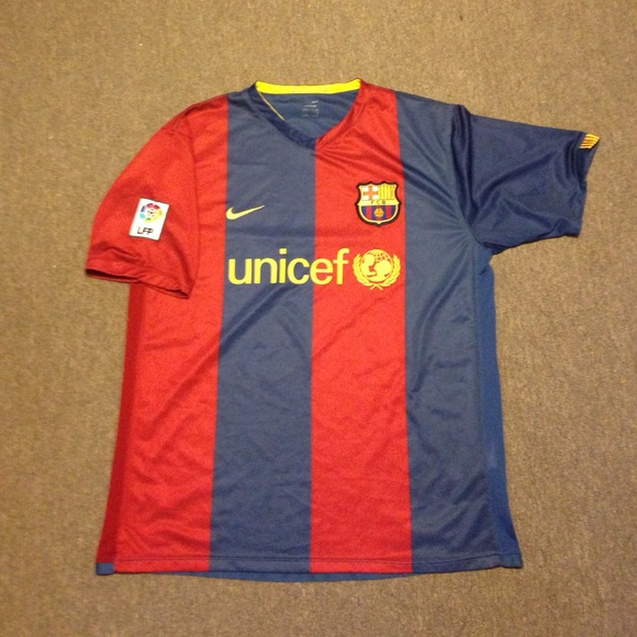 c9ca9353e Nike Shirts | Sphere Dry Barcelona Lfp Soccer Jersey Mens | Poshmark