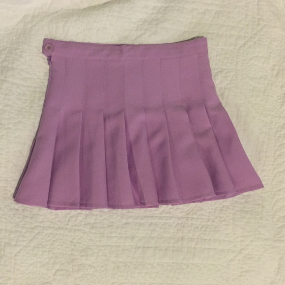 american apparel pleated tennis skirt from s