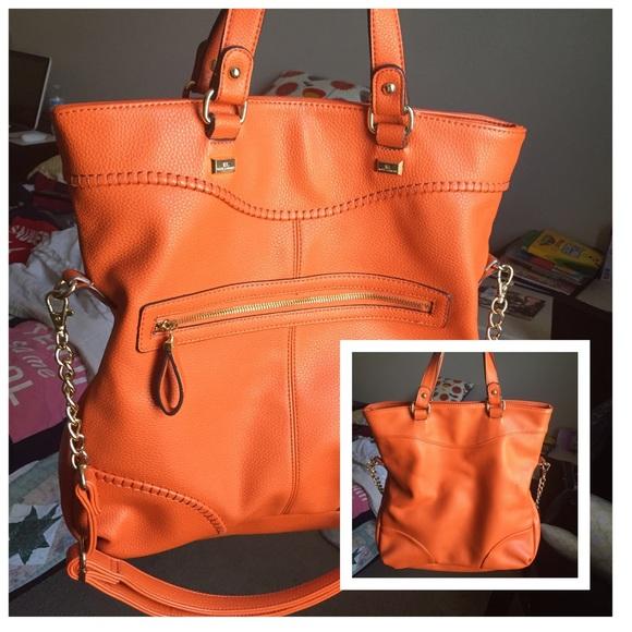 fcaf1befe0dc Kate Landry Handbags - Orange Kate Landry Purse   Wallet Set
