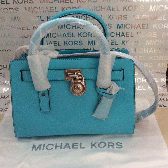 2b938199d3c72d MICHAEL Michael Kors Bags | 0ld Michael Kors Hamilton Aquamarine ...