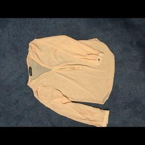 Tops - Zip up blouse nwot