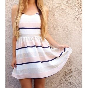 | new | striped dress