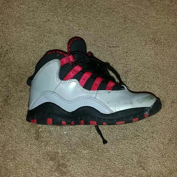 buy popular 5ed48 109c8 Toddler Jordans Worn Size 11C Authentic kids