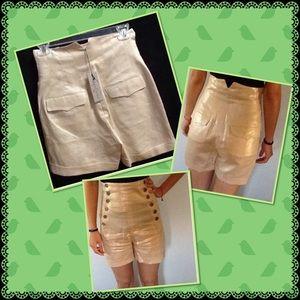 Foley + Corinna Pants - Foley+Corinna linen shorts SALE