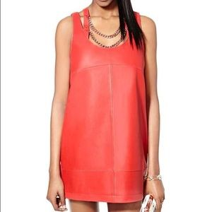 Nasty Gal Unruly Heart Leather Dress