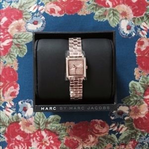 ✨NEW✨Marc by Marc Jacobs Rose Gold Watch