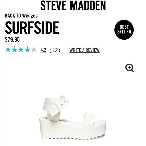 7efffe64fe98 Surfside Steve Madden Sandal. M 55bae676f9a2ca1c42001fb4