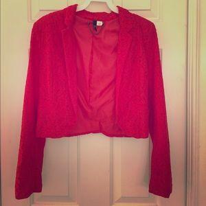 H&M lace blazer
