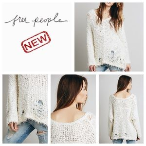 new Free People Up the Ladder pullover. NWOT