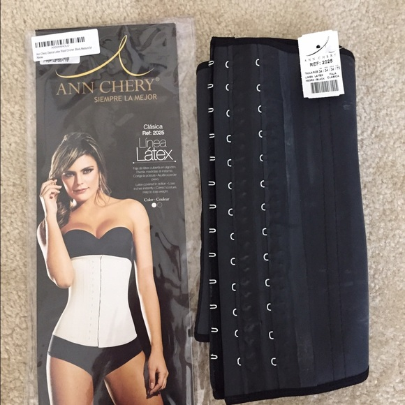 aa7153467b Waist Trainer Cincher Ann Chery -Medium Blk Latex