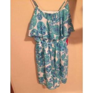 NWT Lilly Pulitzer for Target Satin Flounce Dress