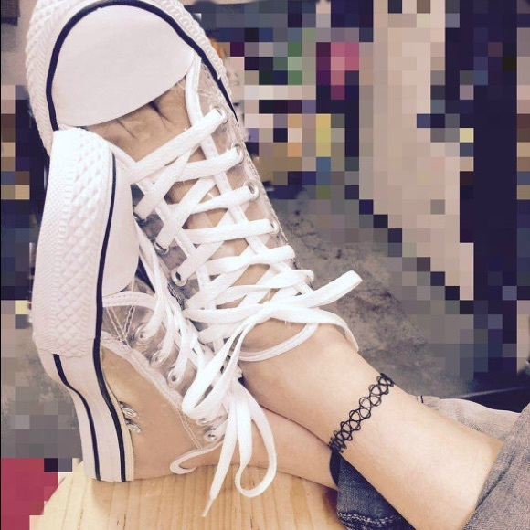 Converse Shoes - Clear
