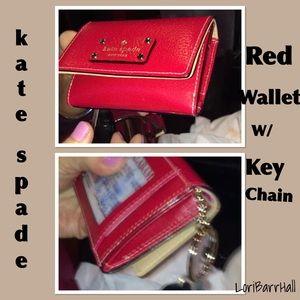 HOST PICKkate  spade ♠️ keychain wallet