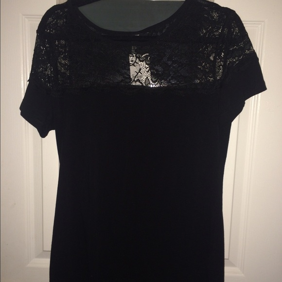 01acf7f0aa2c94 H&M Tops | H M Black Lace Top | Poshmark