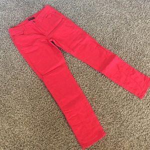 Dana Buchman red denim pants - size 6