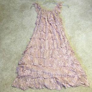 Dresses & Skirts - Chiffon Lace Dress