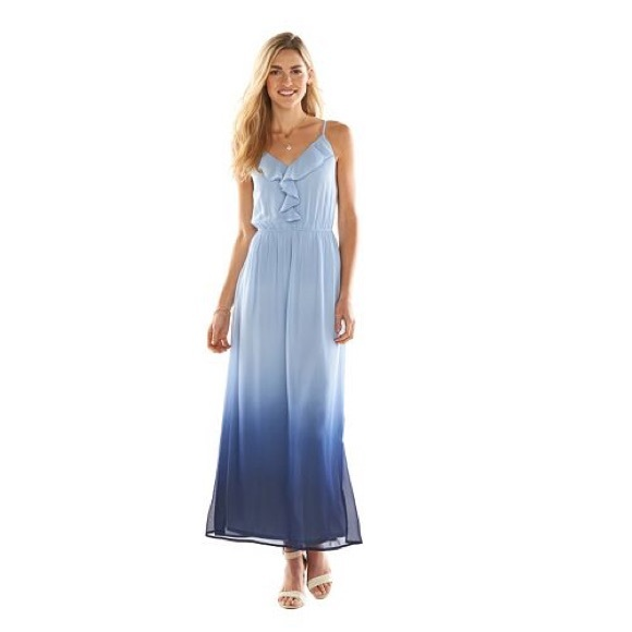c74cca927 LC Lauren Conrad Dresses | Ombr Maxi Dress | Poshmark