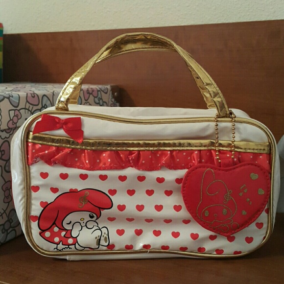 66% off Sanrio Handbags - SALE My Melody *Super Cute* Makeup Bag ...