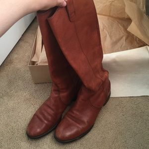 Madewell Shoes - Madewell Archive English Saddle Leather Boots Sz 8