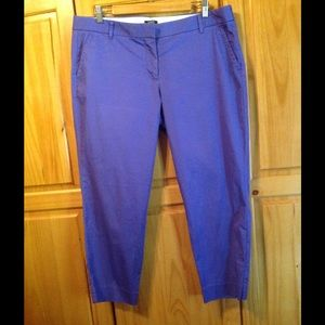 71% off J. Crew Pants - Purple Capri pants from Sheila's closet on ...