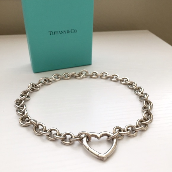 d55575991 Tiffany & Co. Jewelry   Flash Sale Tiffany Co Heart Link Necklace ...