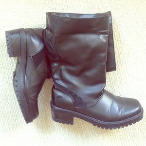 Totes Shoes - Totes Black Boots