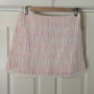 Thayer Dresses & Skirts - Thayer Fringe Mini Skirt