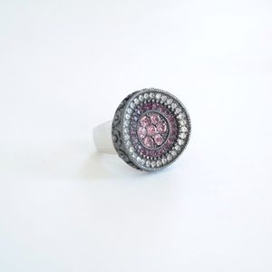 Lia Sophia Purple Reign Cocktail Ring