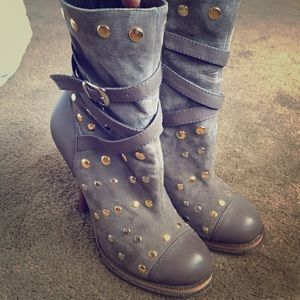 Chinese Laundry studded booties.