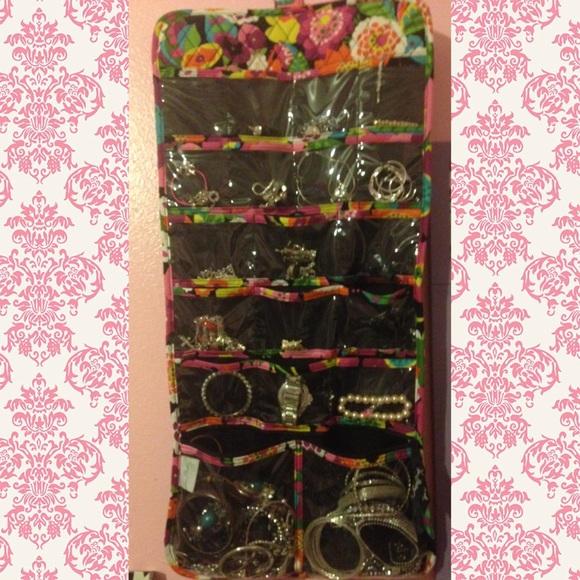Vera Bradley Accessories Vera Bradley Hanging Jewelry Organizer