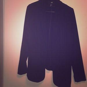 Lightweight black blazer