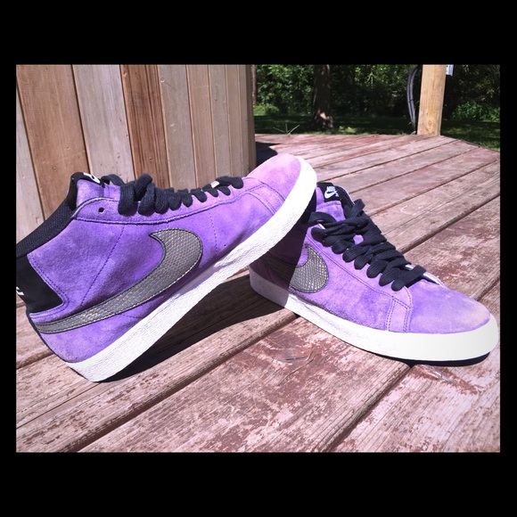 Nike Shoes   Nike Sb Suede Purple Rain