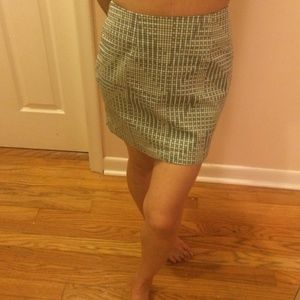 BCBGENERATION pattern mini pattern skirt BNWT